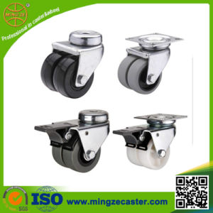 European Type Small Twin Wheel Caster pictures & photos