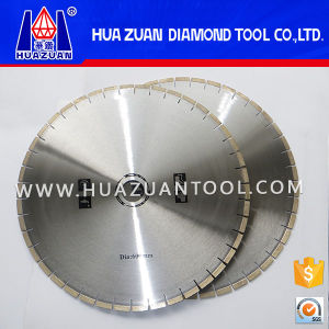 Heigh Frequency Welding 60cm Diamond Round Blade for Marble pictures & photos