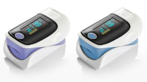 Ce Approved Color LED Screen Finger Fingertip Pulse Oximeter pictures & photos