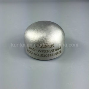 Wp304/304L Stainless Steel Cap Steel Pipe Fitting with Dnv (KT0030) pictures & photos