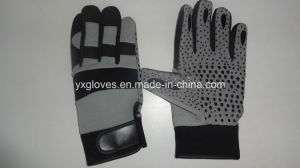 Work Glove-Safety Glove-Mechanic Glove-Gloves-Labor Glove-Synthetic Leather Glove pictures & photos