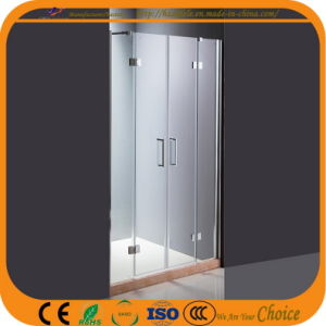 2 Hinge Door Glass Shower Screen (ADL-8A5) pictures & photos