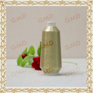 St Type Golden Plastic Pipe Metallic Yarn