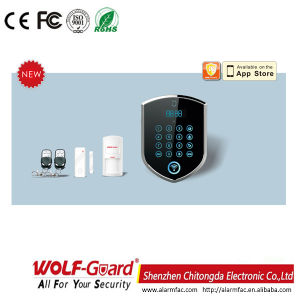 WiFi Home Security GSM Alarm System with 99 Wireless Zones pictures & photos