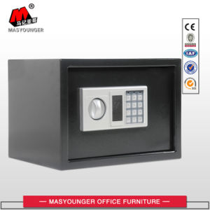 White Color Hotel Home Use Mini Metal Safe Box pictures & photos