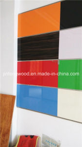 Furniture Material Carbinet Board in Door High Glossy UV Coated MDF Plywood Blockboard pictures & photos