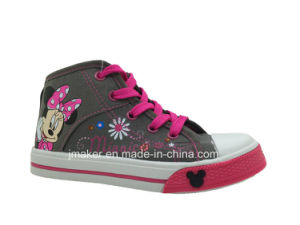 Fashion Cartoon Children Shoes Sneaker (X166-S&B)