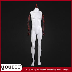 Headless Male Mannequin with Wooden Arms for Clothes Display pictures & photos