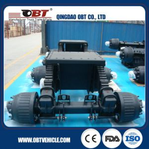 28t 32t 24t Semi-Trailer Boogie Suspension with BPW Axle pictures & photos