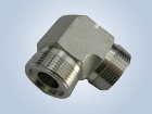 90 Degree Elbow Metric Thread Male O-Ring Face Seal Fittings Replace Parker Fittings and Eaton Fittings pictures & photos