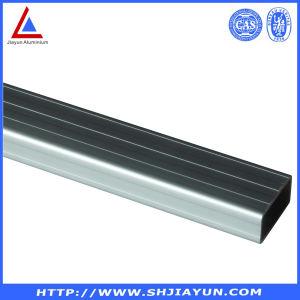 6063 T5 Brushed Aluminium Square Tube pictures & photos