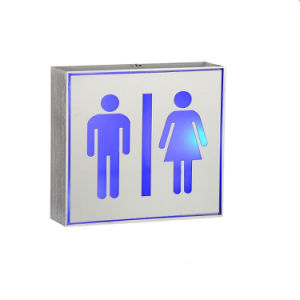 Convention LED 2W Toilet Sign Aluminum Box Lamp with 2 Years Warranty pictures & photos
