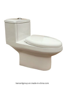 One Piece Toilet Siphonic Toilet Water Closet Wc 8020 pictures & photos
