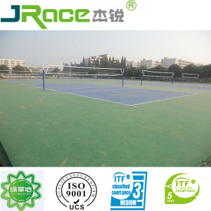 Rubber Volleyball Court Flooring pictures & photos