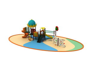 Straw House Series Preschool Playground Equipment pictures & photos