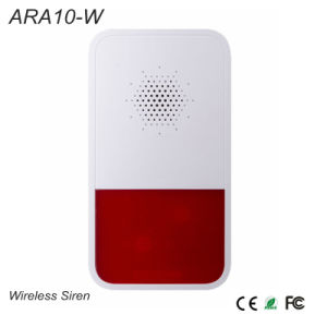 Alarm Accessories Wireless Siren {Ara10-W} pictures & photos