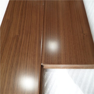 Manufacturer UV Lacquered American Walnut Engineered Wood Flooring pictures & photos