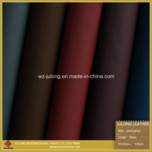 High Solid Artifical Leather for Shoes (S044) pictures & photos