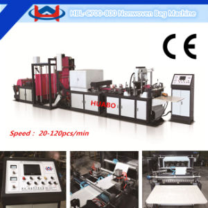 3 Side Gusset Nonwoven Bag Making Machine pictures & photos