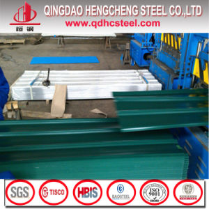 China Color Coated Corrugated PPGI Roofing Sheet pictures & photos