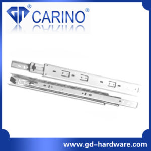 (4003) Top Quality Telescopic Drawer Channel /3-Fold Steel Ball Bearing Slide pictures & photos