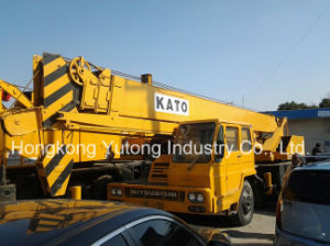 Used/Second-Hand Kato Nk-250e Truck Crane/Mobile Crane/ Truck Moisting with Good Condition