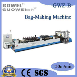 High Speed 3 Side Sealing Zipper Standing Bag Making Machine pictures & photos