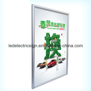 Aluminum Magnetic Frame Slim LED Light Box for Advertising pictures & photos
