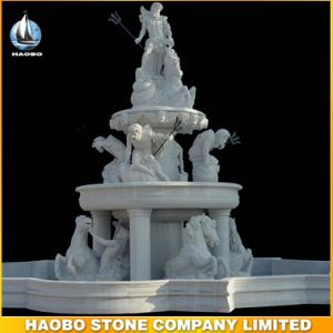 White Marble Sculpture Water Fountain pictures & photos