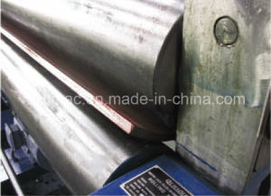 Nc Mechanical Three Roller Symmetrical Plate Rolling Bending Machine pictures & photos