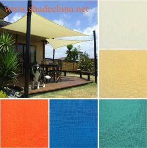 Different Colors of 100% New HDPE Fabric Garden Sun Shade Sail for Playground (Manufacturer)