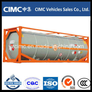 Cimc 20ft Bitumen Tank Container pictures & photos