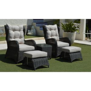 Wicker Garden Outdoor Furniture Rattan Patio Bistro Set