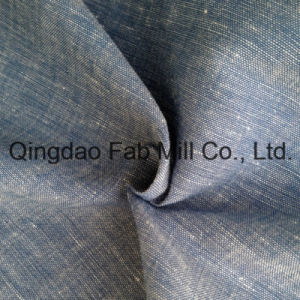 Hemp Cotton Blended Oxford Fabric (QF13-0105) pictures & photos