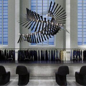 Hotel Lobby Decorative Aluminium Chandelier with Stainless Steel pictures & photos