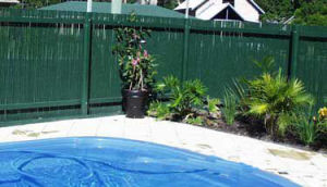 Bamboo Cane Fences with External Galvanised Wiring pictures & photos