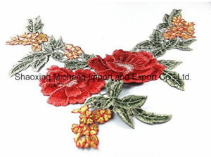 Polyester Venise Lace Collar Patches pictures & photos