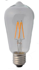 St58 Vintage LED Filament Bulb2w 4W 6W 8W for Energy Saving pictures & photos