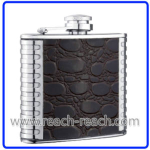 18/8 High Quality Stainless Steel Hip Flask (R-HF019) pictures & photos