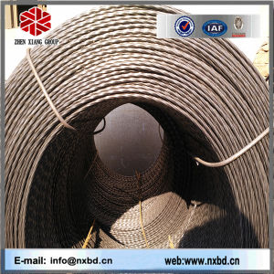 Hot Rolled Standard Twisted Steel Bar for Steel Gratings pictures & photos