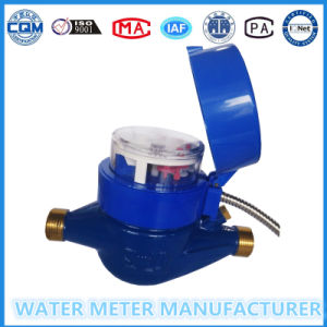 Wired Remote Valve Control Prepaid Water Meter pictures & photos