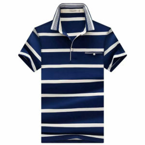OEM Cotton Striped Yarn Dyed Polo Shirt for Man pictures & photos