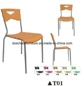Colourful Plastic Product Plastic Chair for Office pictures & photos