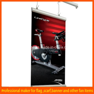 Custom Printed Advertising Ceiling Hanging Banner pictures & photos