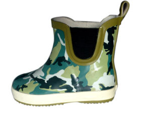 Kids Camouflage Rubber Boots pictures & photos