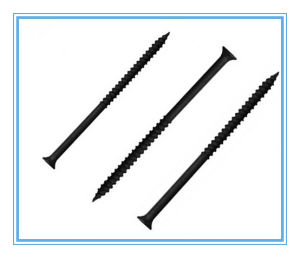 Csk Head Self Tapping Screw/ Black Chipboard Screw pictures & photos