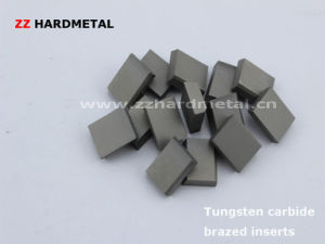 Tungsten Carbide Indexable Inserts and Brazed Tips pictures & photos