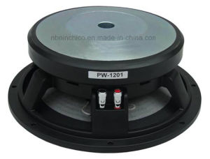 Lf Driver 12 Inches 100mm Kapton Coil Pfrofessional Speaker (PW1201-100) pictures & photos