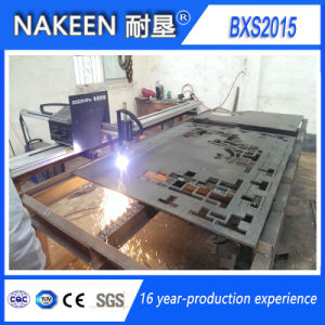 Small CNC Plasma/Gas Cutting Machine Made by Nakeen pictures & photos