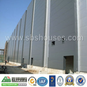 Movable Light Prefabricated Steel Frame Workshop pictures & photos